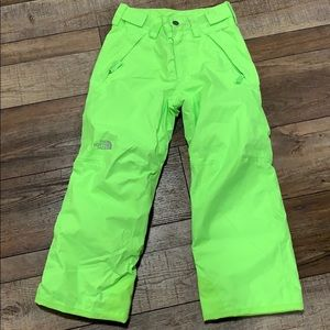 The Northrace kids snow pants 7/8